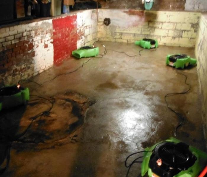 Tiffin oh biohazard and hazmat cleanup servpro of huron for Sewer backup smell in house