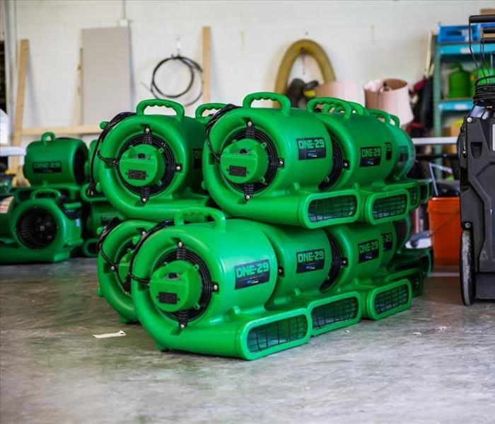 SERVPRO Restoration Equipment in the Huron Area