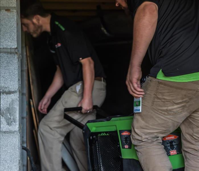 SERVPRO workers