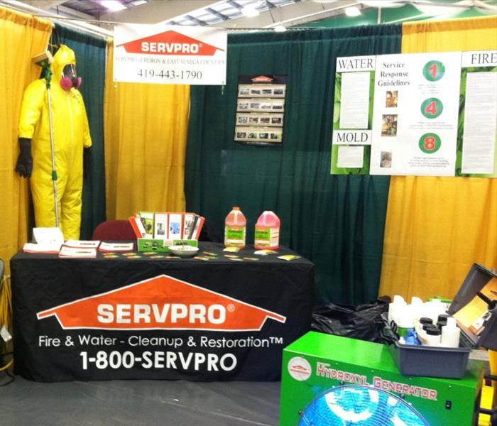 Tiffin Home Show Booth 2014