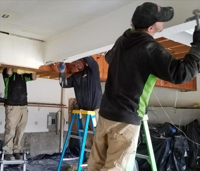 Commercial Restoration Project in Huron, OH